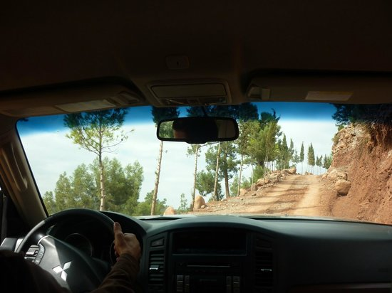 Kasbah Bab Ourika:                   The drive up! Get a transfer, not a taxi.