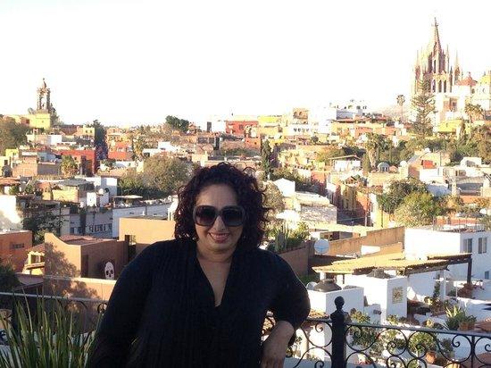 Hotel Matilda: Vista Panoramica desde la terraza del Rosewood San Miguel de Allende
