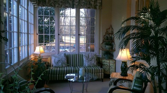 The King's Daughters Inn:                   Sun porch