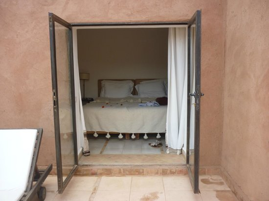 Kasbah Bab Ourika:                   Our room