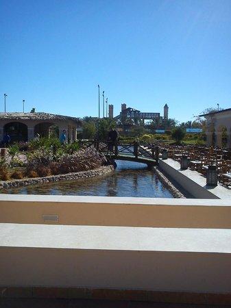 Jaz Mirabel Beach:                   امام المطعم