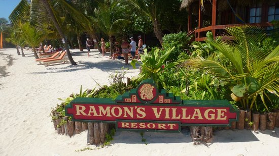 Ramon's Village Resort:                   Beach view of Ramons