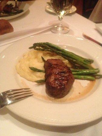 Phil's Angus Steakhouse:                   Minature steak