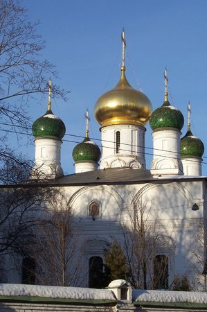Cathedral of the Vladimirskaia Icon of the Mother of God:                   Собор Сретенского монастыря