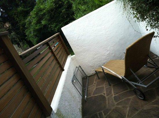 Sittnerhof Agriturismo:                   veranda privata