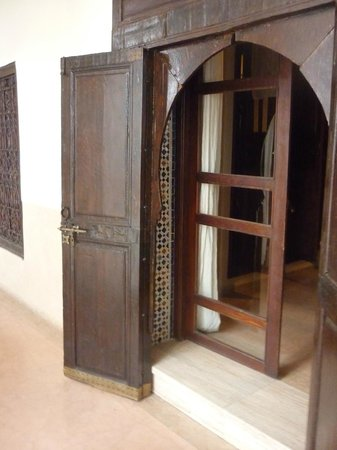 Riad Charai: room entrance