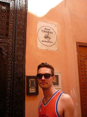 Riad Charai: Door
