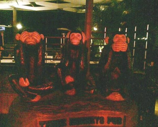 Three Monkeys Pub :                   Three Monkeys