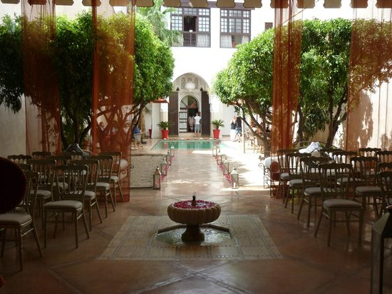 Riad Charai: Our wedding set up