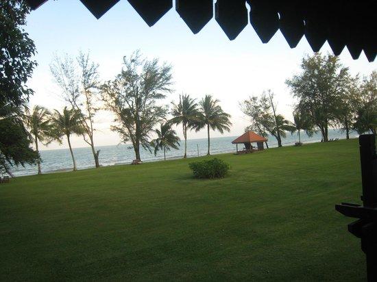 Club Med Cherating Beach:                   Vue de la chambre