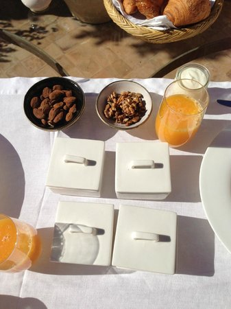 Riad Joya:                   Breakfast