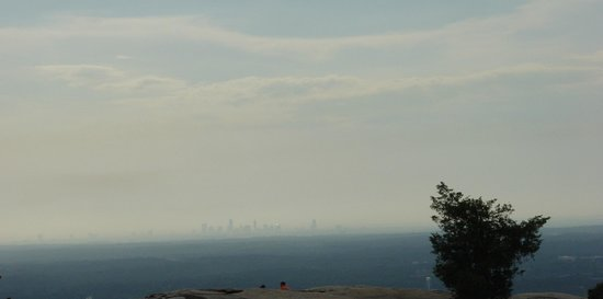 Stone Mountain Park:                   View from the top of Stone Mountain