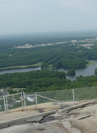 Stone Mountain Park:                   Top of Stone Mountain