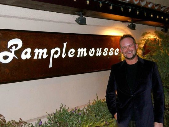 Pamplemousse French Restaurant :                   The the Pamplemousse!  Treat divine!!!