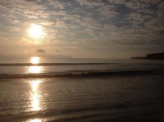 Blue Osa Yoga Retreat and Spa:                   Sunrise at Blue Osa