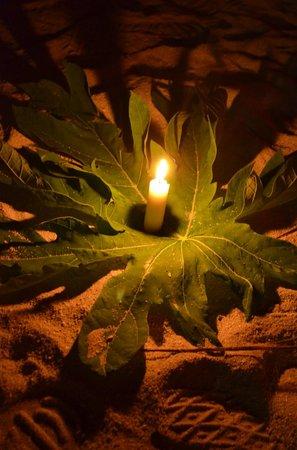 Palm Villa:                   Ljusstämning
