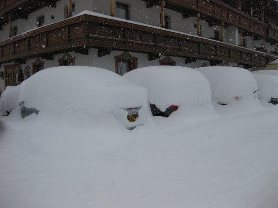 Hotel Wagnerhof:                                     Lekker veel sneeuw