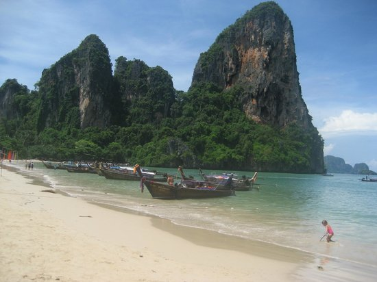 ‪ريلي برينسيس ريزورت آند سبا: Railay beach‬