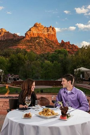 Kimpton Amara Resort & Spa: Dine al-fresco