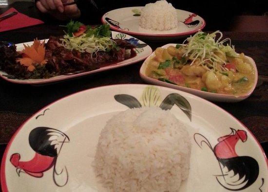 Five Spice :                   FiveSpice Ente & Shrimp Sate - sehr fein!!!! Zweierstrasse 106