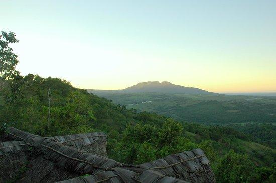 Tubagua Plantation Eco Lodge:                   Vue de la salle à manger