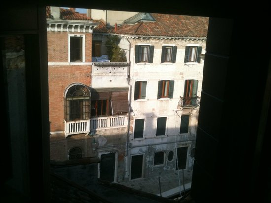 Hotel Pausania:                                     View from our room