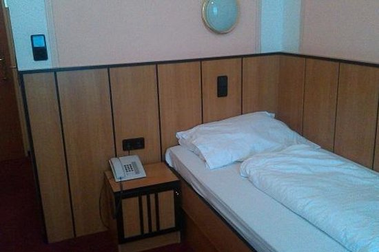 Hotel Gabriel:                   the comfortable bed