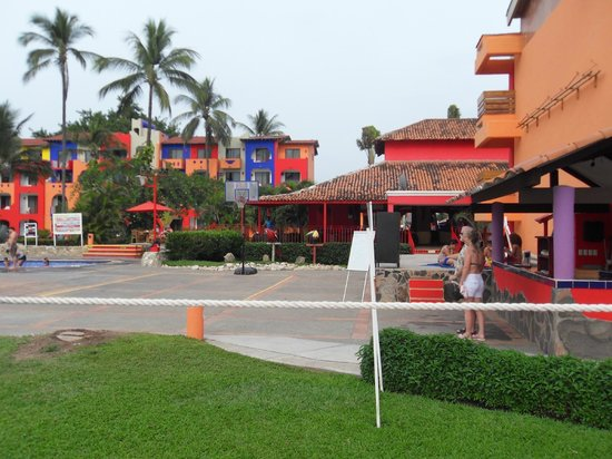 Royal Decameron Complex:                   Looking back at block two