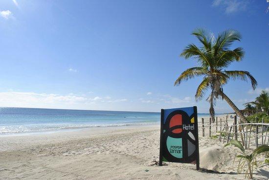 Posada Lamar:                   LA spiaggia