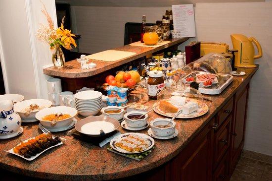 La Romance :                   Espace cuisine