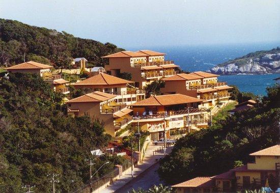Rio Buzios Beach Hotel: Sky vew
