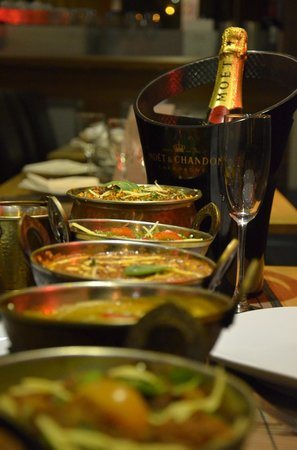 Sanskrit Contemporary Indian Restaurant: Evening Meal at Sanskrit (Party Bookings Available)