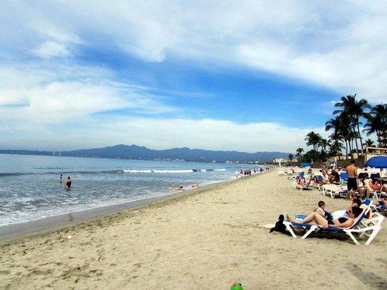 Hotel Riu Vallarta:                   beach view