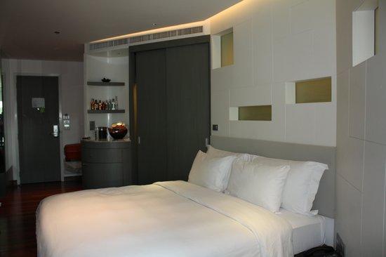 LiT BANGKOK Hotel:                   Skön stor säng