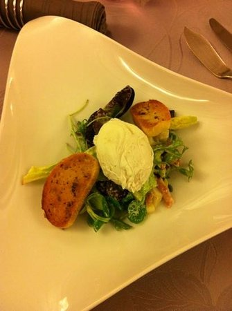 Hostellerie du Vieux Moulin : salade campagnarde