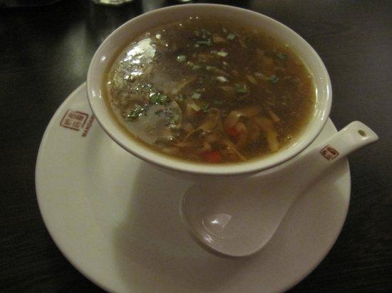 Mandarin:                                     Soup