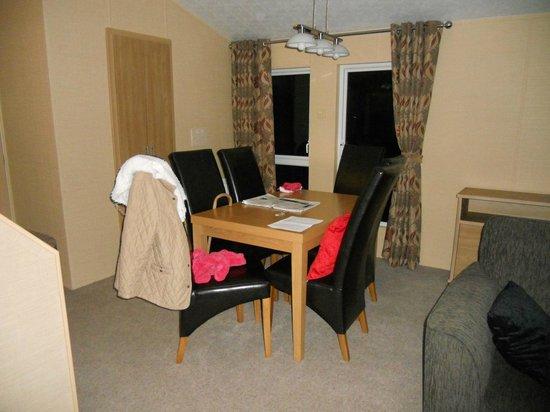 Coastal Kippford: the lovely dining room, in lodge
