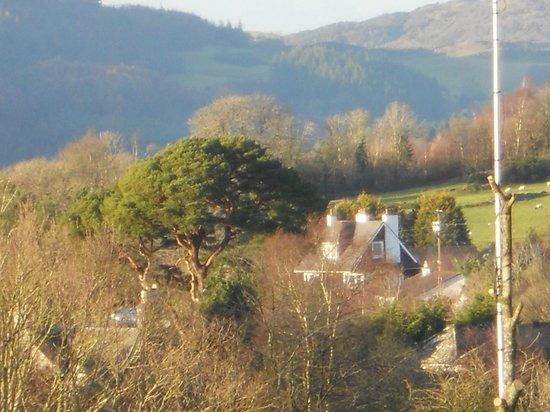 Coastal Kippford: view from the balcony