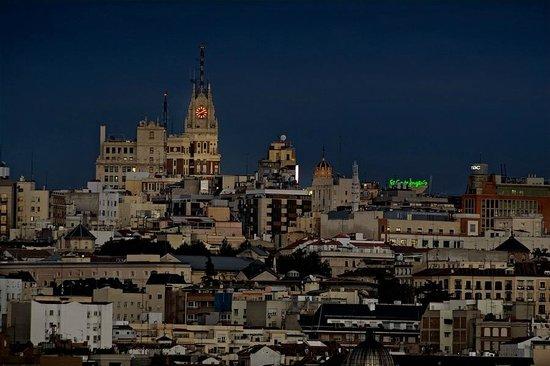 Madrid desde un mirador de la casa de campo fotograf a de - Casas de campo madrid ...
