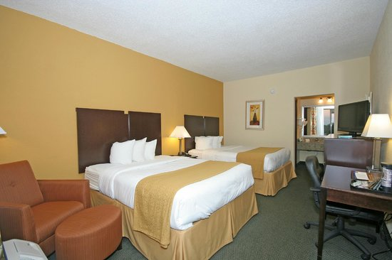 Comfort Inn Jonesville: Two Queen