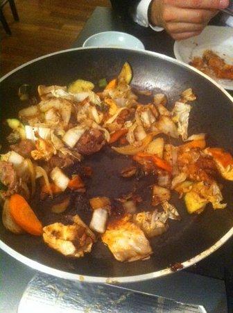 Seoul:                   hmmm....yummy burnt food with no service