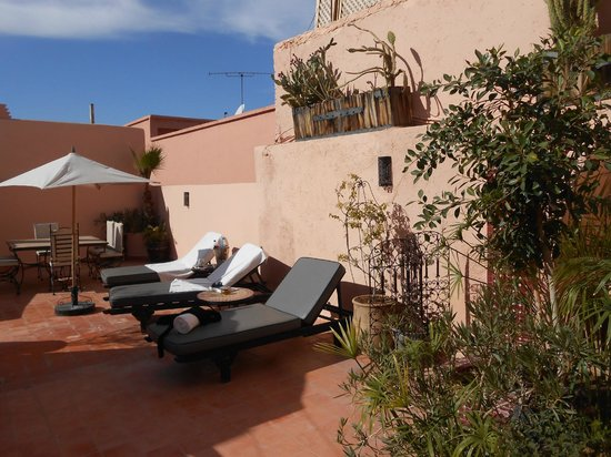 Riad Tawargit:                                                       Terrasse