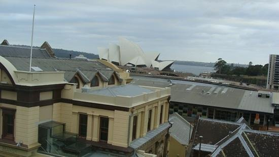 Holiday Inn Old Sydney:                   View from our room
