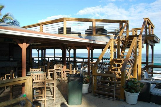Beside The Pointe Inn:                   Wonderful, 2 story bar/deck.