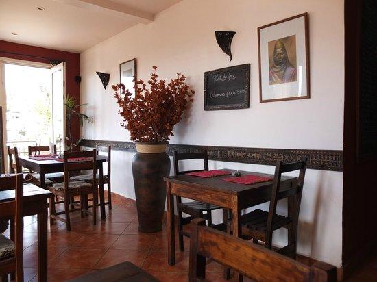 Restaurant de l'hotel Niaouly à Antananarivo