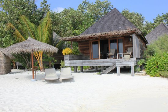 Gangehi Island Resort:                   Beach Villa