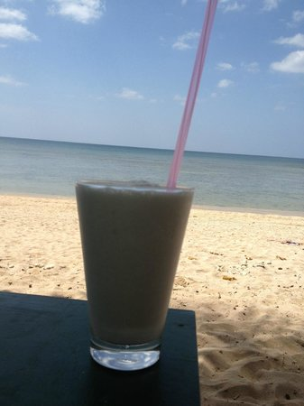 Fisherman's Cottage:                   Pon's Coconut shake - the best!