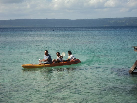 Paradise Cove Resort: kayaking