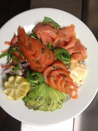 Al Trullo:                   rustica salat