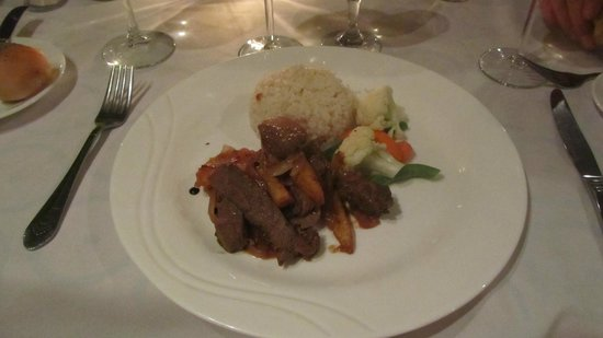 Doubletree Resort by Hilton, Central Pacific - Costa Rica:                   One of the nice dinner nights...restaurant near front of property...can't reme